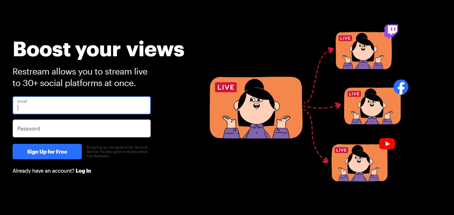 Free Restream Review: Live Stream On All Social Media [2021]